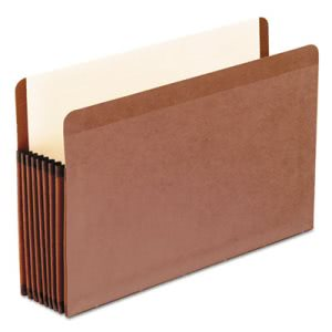 "Pendaflex 7"" Expanding File Folder, Legal, Brown, 5 Folders (PFX45303)"