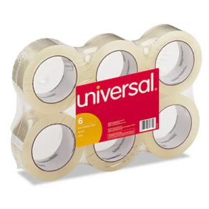 Clear Box Sealing Tape, 109 Yards - 6 rolls per pack (UVS 63500)