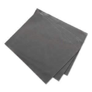 "Innovera Microfiber Cleaning Cloths, 6"" x 7"", Grey, 3/Pack (IVR51506)"