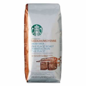 Starbucks Coffee, Ground, Pike Place Decaf, 1lb Bag (SBK11029358)