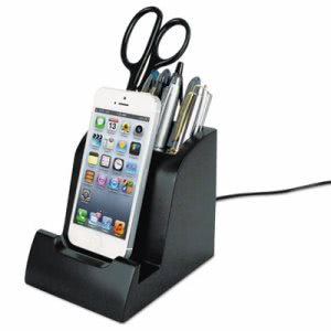 Victor Smart Charge Lightning Dock with Pencil Cup (VCTPH700)
