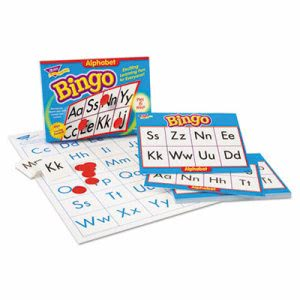Trend Young Learner Bingo Game, Alphabet (TEPT6062)