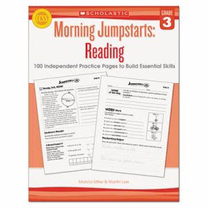 Scholastic Morning Jumpstart Series Book, Reading, Grade 3 (SHSSC546422)