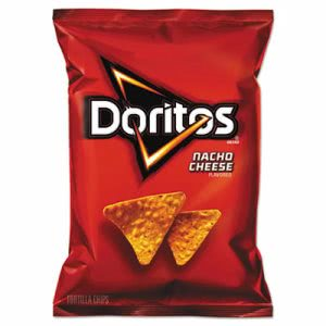 Doritos Nacho Cheese Tortilla Chips, 64 Bags (LAY44375)