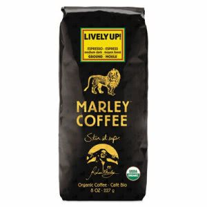 Marley Coffee Coffee Bulk, Lively Up, 8 oz Bag (MLY02394)