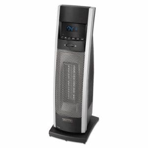 Bionaire Ceramic Mini Tower Heater with LCD Control, Black (BNRBCH9212RNU)