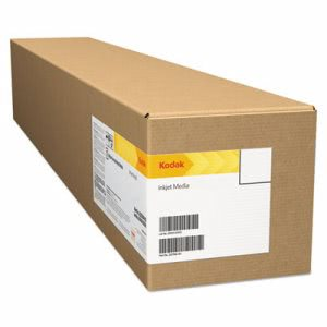 "Kodak Inkjet Photo Paper Roll, Matte, 10.9 mil, White, 60"" x 100 ft (BMGKPRO60M)"