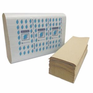 GEN Brown Multi-Fold Paper Towels, Brown, 4,008 Towels (GENMF4001K)