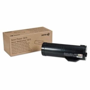 Xerox 106R02722 High-Capacity Toner, 14100 Page-Yield, Black (XER106R02722)