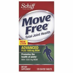 Move Free Advanced Plus MSM Total Joint Health Tablet, 120 Count (MOV11868)