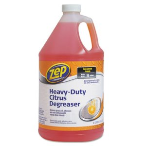 Zep Commercial Cleaner and Degreaser, Citrus Scent, 1 gal Bottle (ZPEZUCIT128)