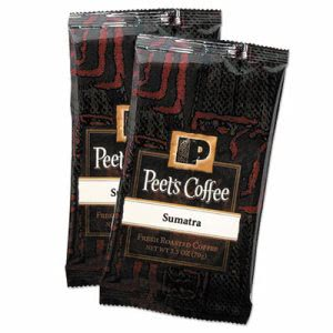 Peet's Coffee Portion Packs, Sumatra, 2.5 oz Pack, 18 Packs (PEE504917)
