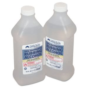 Physicianscare First Aid Kit Rubbing Alcohol Refill, 16-oz Bottle (ACM12600)