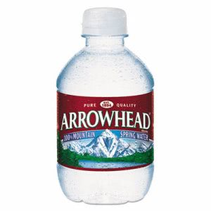 Arrowhead Natural Spring Water, 8-oz, 48 Bottles (NLE827163)