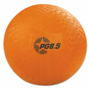 "Champion Sports Playground Ball, 8 1/2"" Diameter, Orange (CSIPG85OR)"