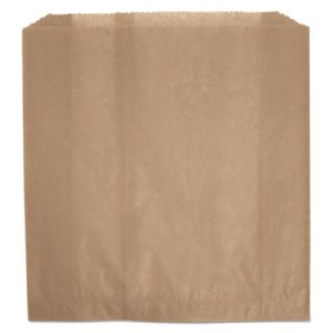 "Rubbermaid Commercial Waxed Napkin Receptacle Liners, 2.75"" x 8.5"", Brown, 250/Carton (RCP6141)"