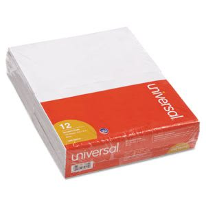 Universal Scratch Pads, Unruled, 5 x 8, White, 12 100-Sheet Pads/Pack (UNV35615)