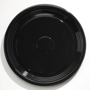 "Wna Caterline Casuals Thermoformed Platters, PET, Blk, 16"" Diameter (WNAA516PBL)"