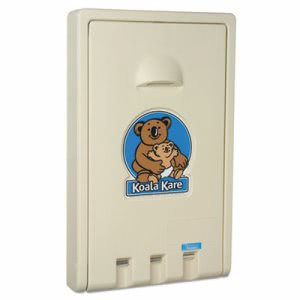 Koala Kare Vertical Baby Changing Station, Cream (KKP KB101-00)