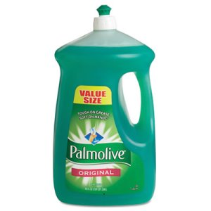 Palmolive Dishwashing Liquid, Original Scent, Green, 90-oz, 4 Bottles (CPC46157)