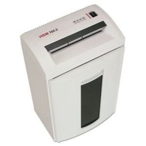 HSM 104.3CC Continuous-Duty Cross-Cut Shredder, 14 Sheet Capacity (HSM1288)