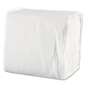 Morcon White 1-Ply Dinner Napkins, Economical, 3000 Napkins (MOR1717)