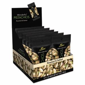 Paramount Farms Shelled Pistachios, 1-oz Pack, 12 Packs (PAM072142A25X)