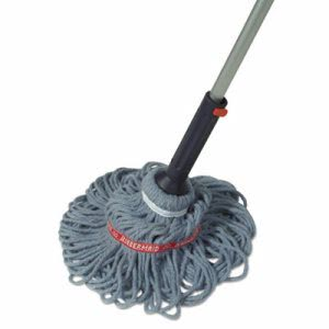 Rubbermaid Commercial Ratchet Twist Mop, Self-Wringing (QCK72036M4)