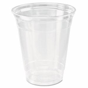 Solo Cup Ultra Clear Cups, Squat, 12-14 oz, 50/Bag, 1,000 Cups (DCCTP12CT)