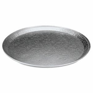"12"" Round Surface Aluminum Serving Trays, 25 Trays (HFA 401380)"
