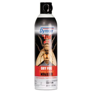 Dymon The End. Dry Fog Flying Insect Killer, 20oz, Can (ITW45120)