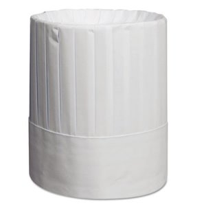 "Royal RCH9 9"" Chef Hat, Thick High-Quality Paper, White 24 Hats (RPPRCH9)"