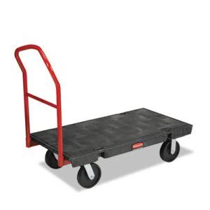 Rubbermaid 4441 HD Platform Truck, 2000-lb. Capacity, Black (RCP 4441 BLA)