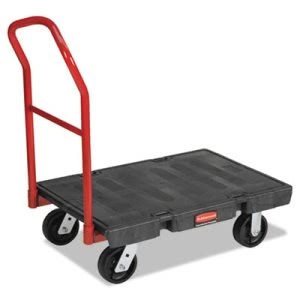 Rubbermaid 4406 HD Platform Truck, 1000-lb. Capacity, Black (RCP 4406 BLA)
