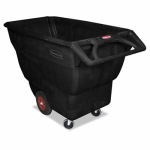 Rubbermaid 1013 Structural Foam Tilt Truck, Standard Duty, Black (RCP 1013 BLA)