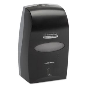 1200-ml Touchless Foaming Hand Soap Dispenser, Black (KCC 92148)