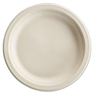 "Chinet Pro Round Paper Plates, 8-3/4"", White, 500 Plates (HUH25775)"