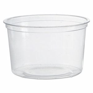 Wna Deli Containers, Clear, 16oz, 50/Pack, 10 Packs/Carton (WNAAPCTR16)