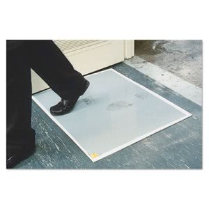 "Walk-N-Clean Dirt Grabber 60-Sheet Refill Pad, 30""x24"", Gray (CWNWCRPLPAD)"