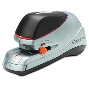 Swingline Optima Electric Stapler, 45-Sheet Capacity, Silver (SWI48209)