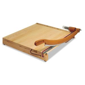 "Swingline  Solid Maple Paper Trimmer, 15 Sheets, Maple Base, 18"" x 18"" (SWI1152)"