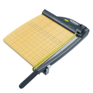 "Swingline Laser Trimmer, 15 Sheets, Metal/Wood Base, 12"" x 12"" (SWI9712)"