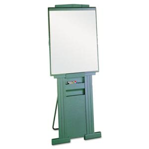 "Quartet Duramax Presentation Easel, Adjusts 39"" to 72"" High, Gray (QRT200E)"
