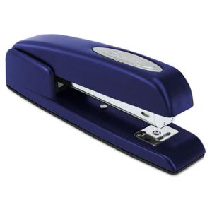 Swingline 747 Business Full Strip Stapler, 20-Sheet, Royal Blue (SWI74729)