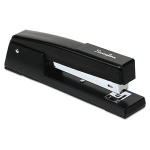 Swingline Classic 747 Full Strip Stapler, 20-Sheet Capacity, Black (SWI74701)