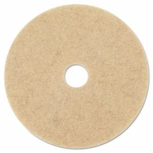 "3M Natural Blend Tan 27"" Floor Burnishing Pad 3500, 5 Pads (MCO 20317)"