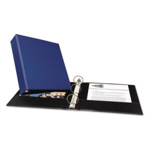 "Avery Economy Round Ring Reference Binder, 2"" Capacity, Blue (AVE03500)"
