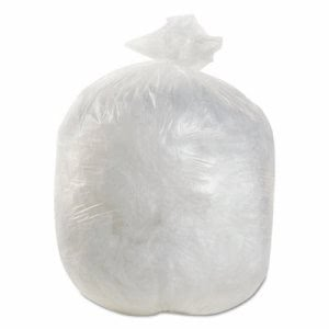 Boardwalk 7 Gallon Clear Trash Bags, 20x22, 6mic, 2000 Bags (BWK202206)