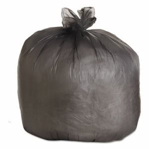 Boardwalk 45 Gallon Black Trash Bags, 40x46, 19mic, 150 Bags (BWK404622BLK)