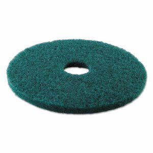 "Premiere 17"" Green Scrubbing Pads, 5 Floor Pads (PAD 4017 GRE)"